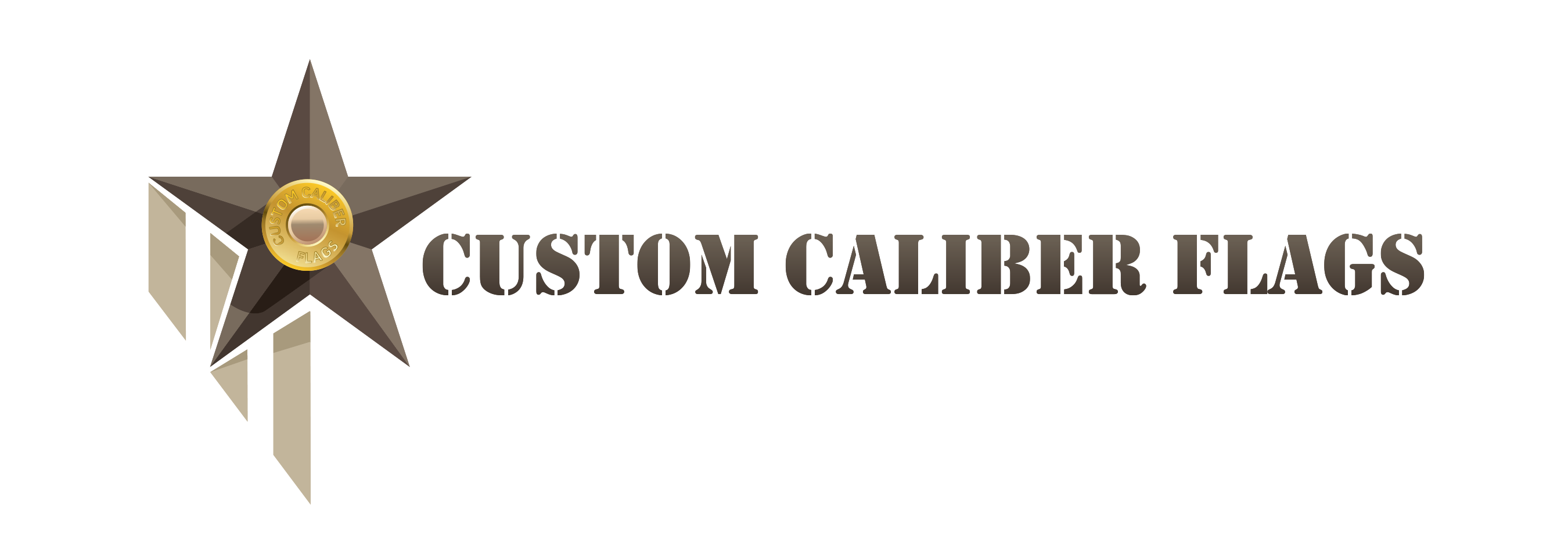 Custom Caliber American Flags